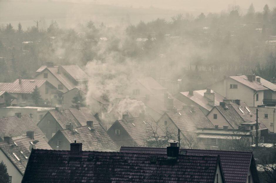 smog na wsi