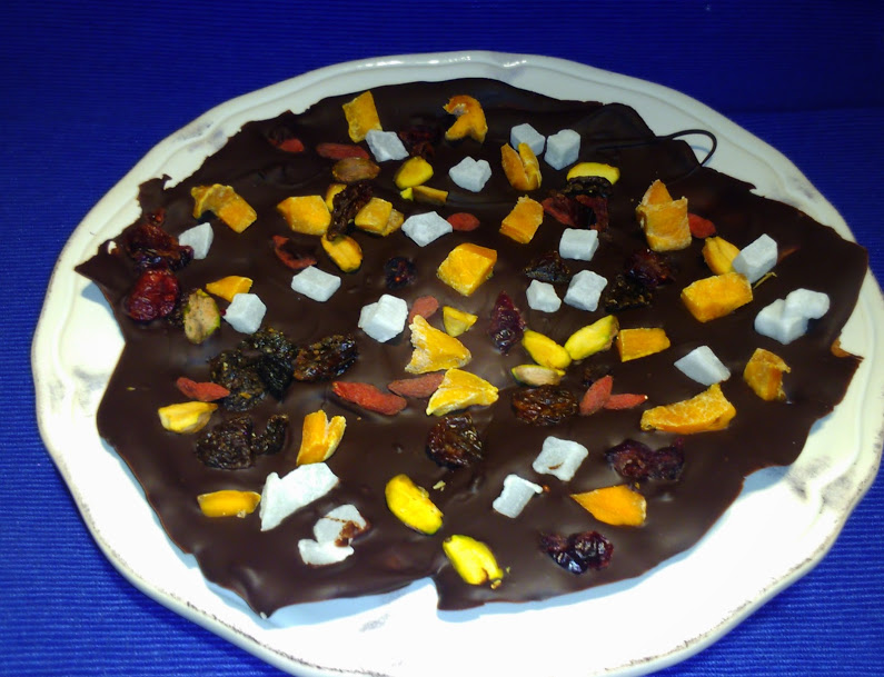 czekolada z bakaliami