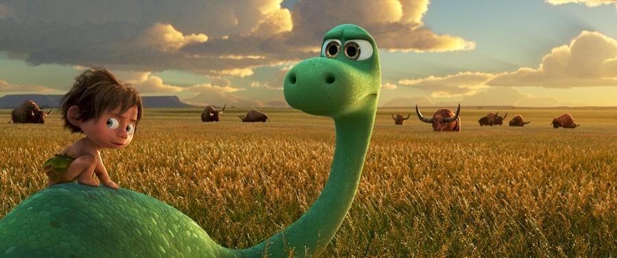 uczłowieczony dinozaur Arlo