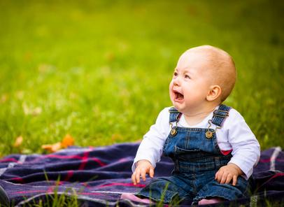 dziecko placze
