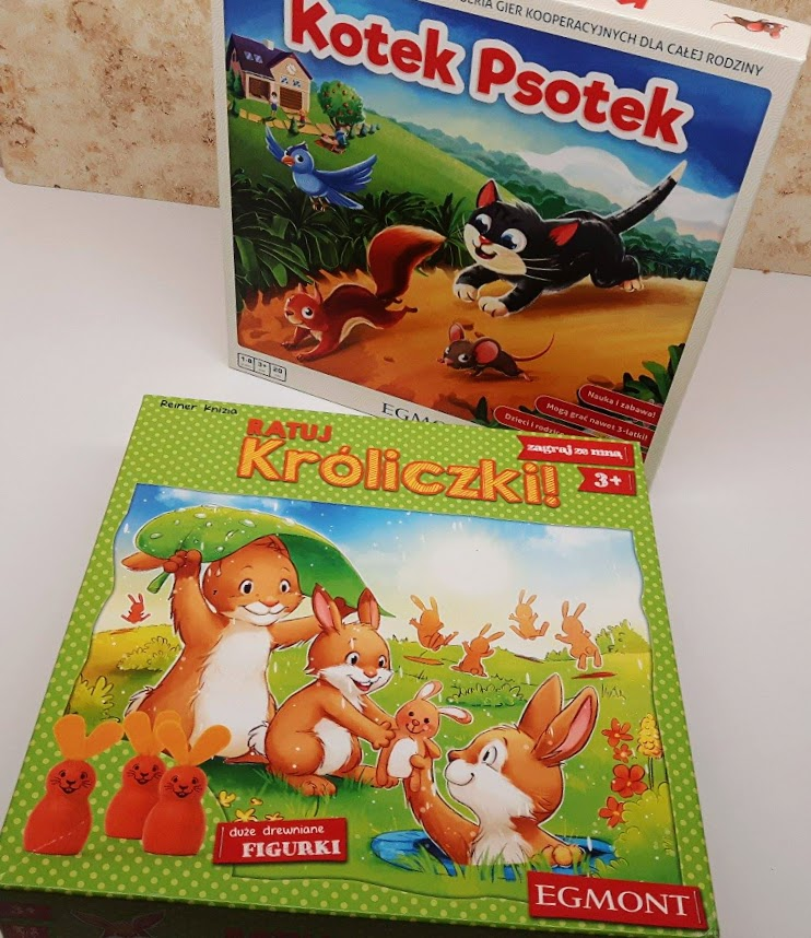 najlepsze gry planszowe dla dzieci 3 i 4 lata