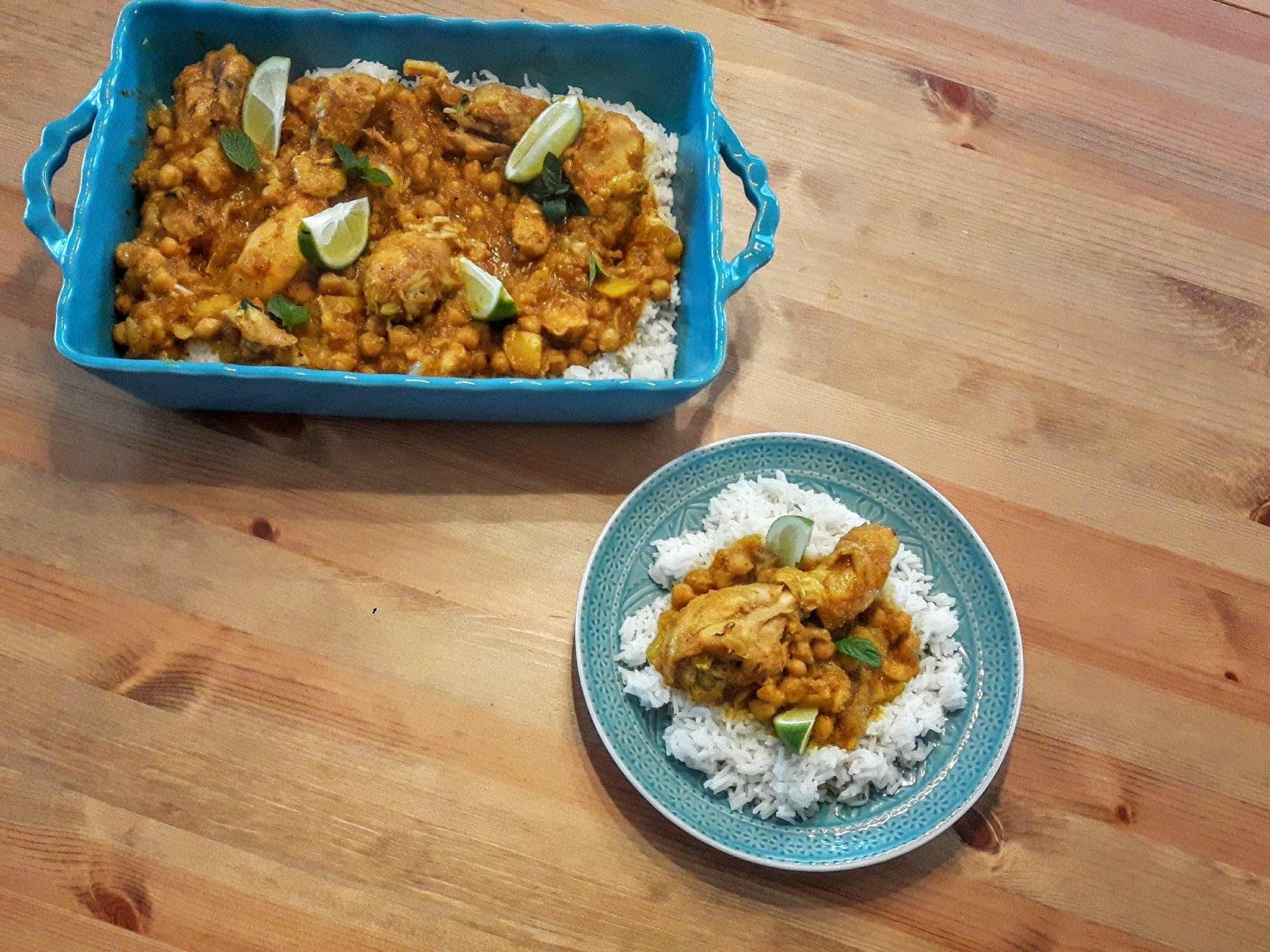 Kurczak curry Jamie Olivier
