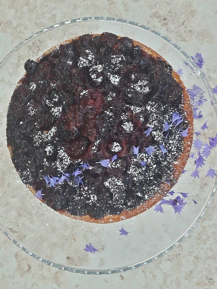 ciasto z jeżynami Jamie