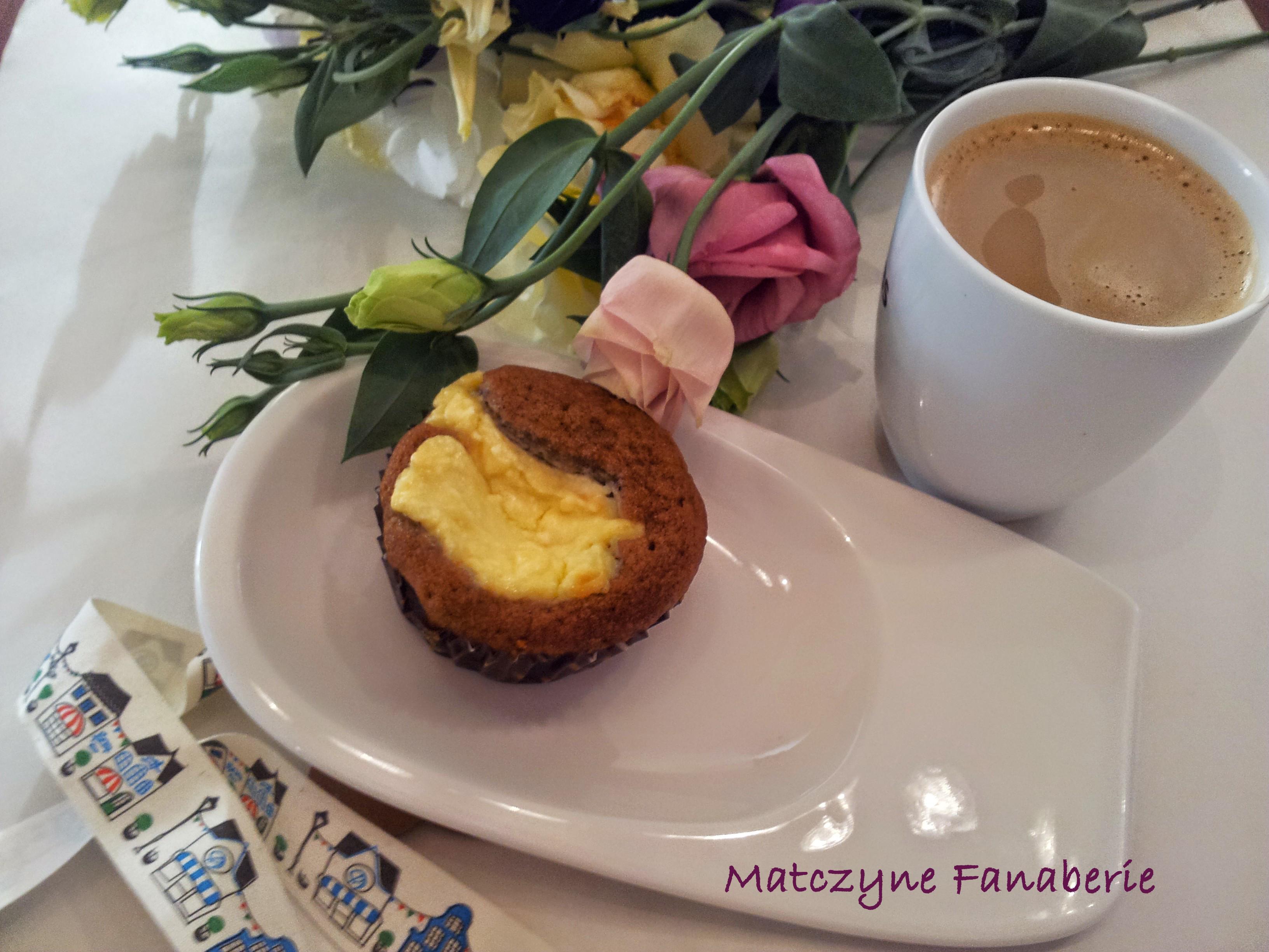 babeczki kawowe z serem