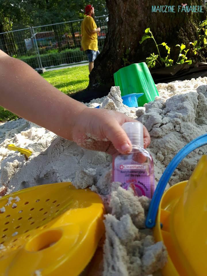 żel i płyn antybakteryjny dla dzieci