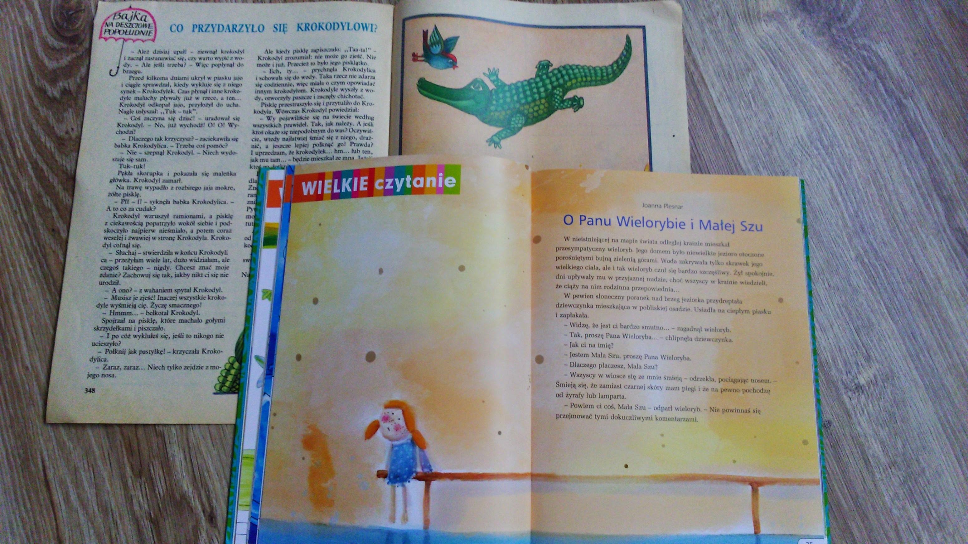 wielkie czytanie świerszczyk