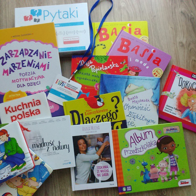 warszawskie targi książki matczyne fanaberie