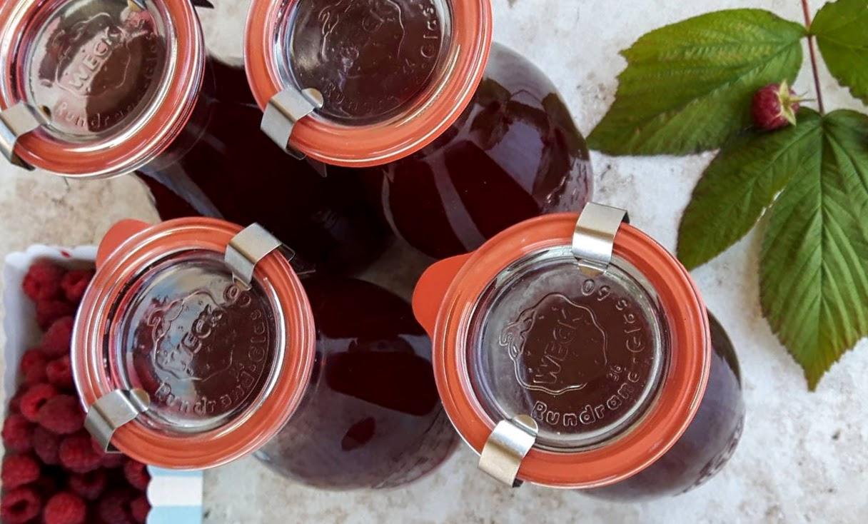 sok z malin na przeziębienie