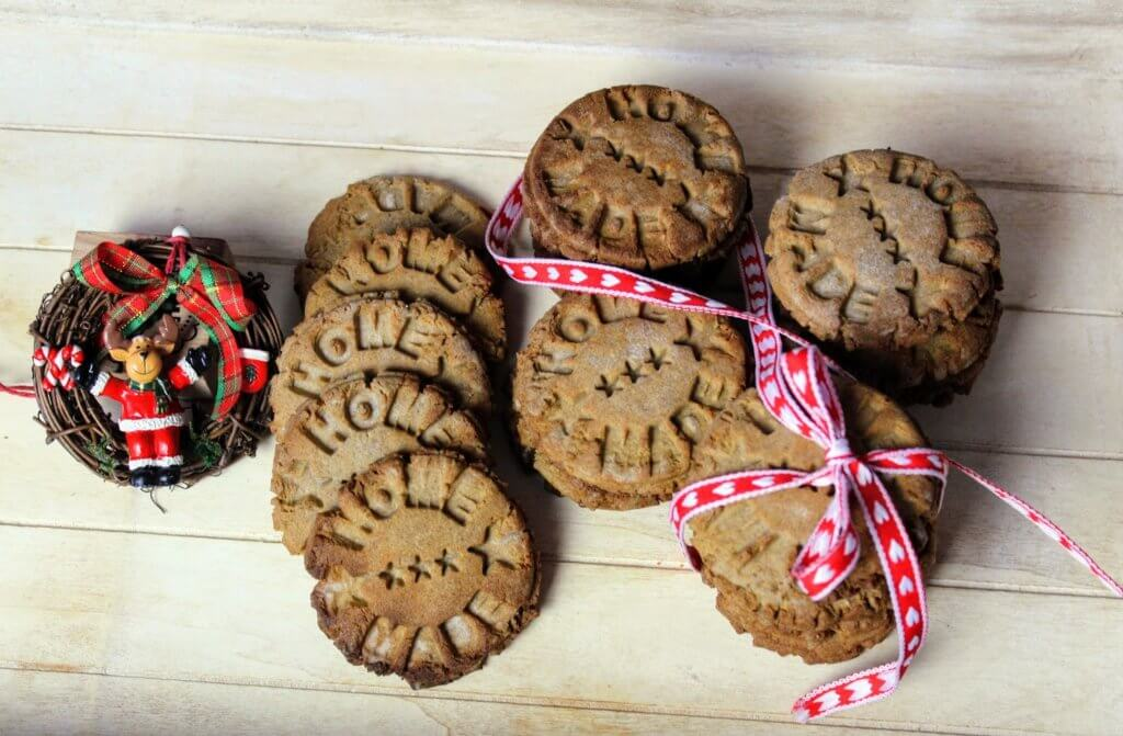 świąteczne ciasteczka marcepanowe