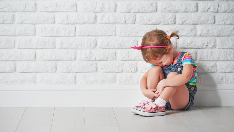 płacz i smutek dziecka