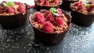 babeczki czekoladowe bez pieczenia