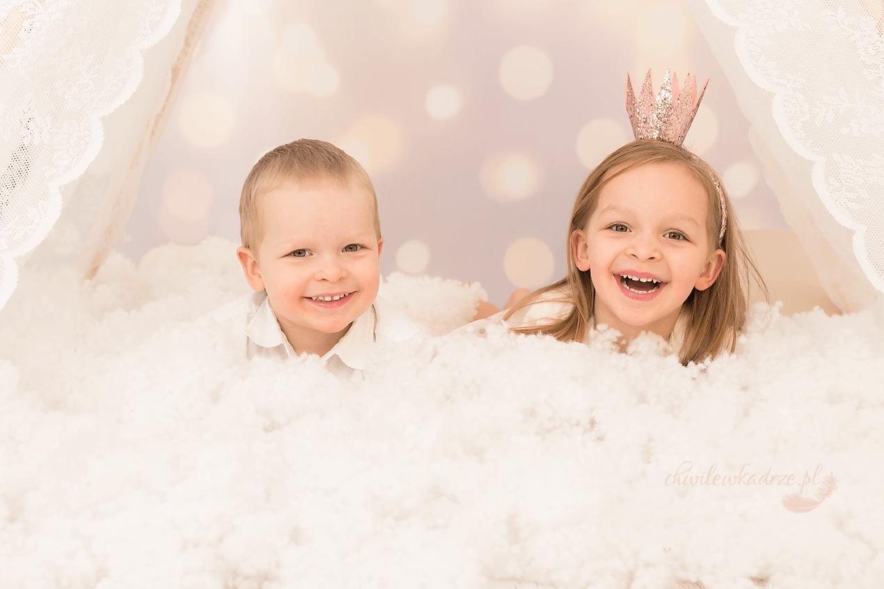 magia świąt z dziećmi