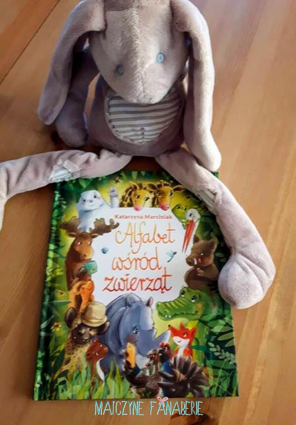 Alfabet wśród zwierząt książeczka dla dzieci