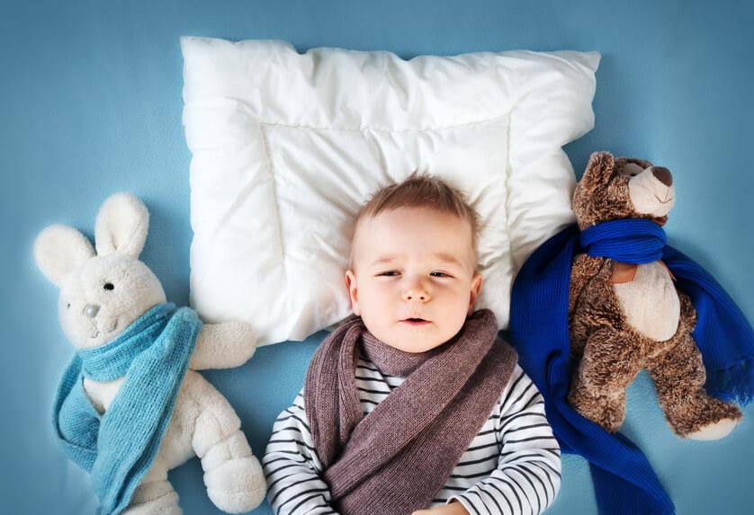 zabawy z dzieckiem podczas chorowania