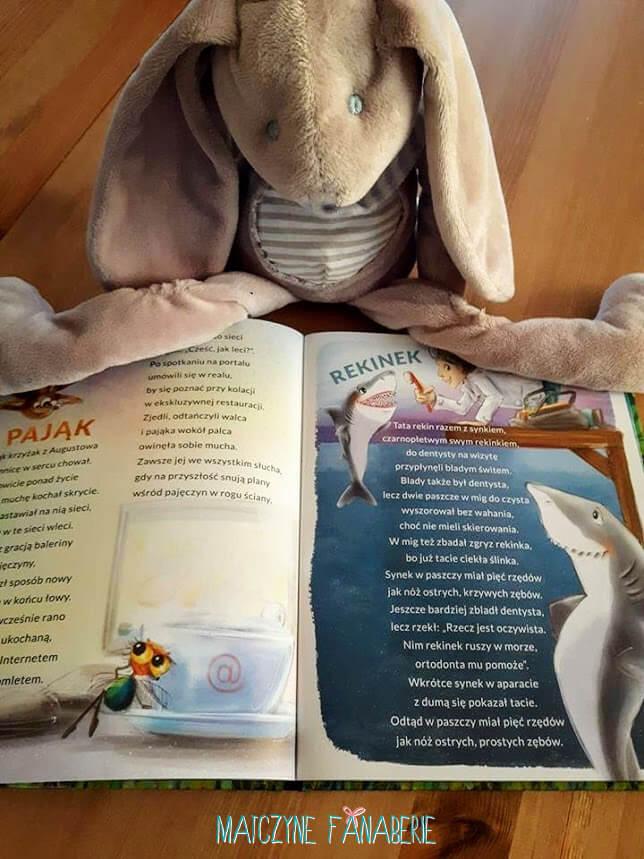 Alfabet wśród zwierząt książka dla dzieci