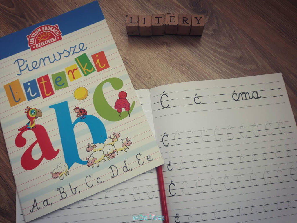 zabawy z dzieckiem pierwsze litery