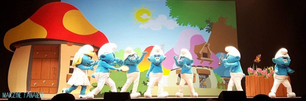 smerfy przedstawienie teatralno-muzyczne torwar warszawa