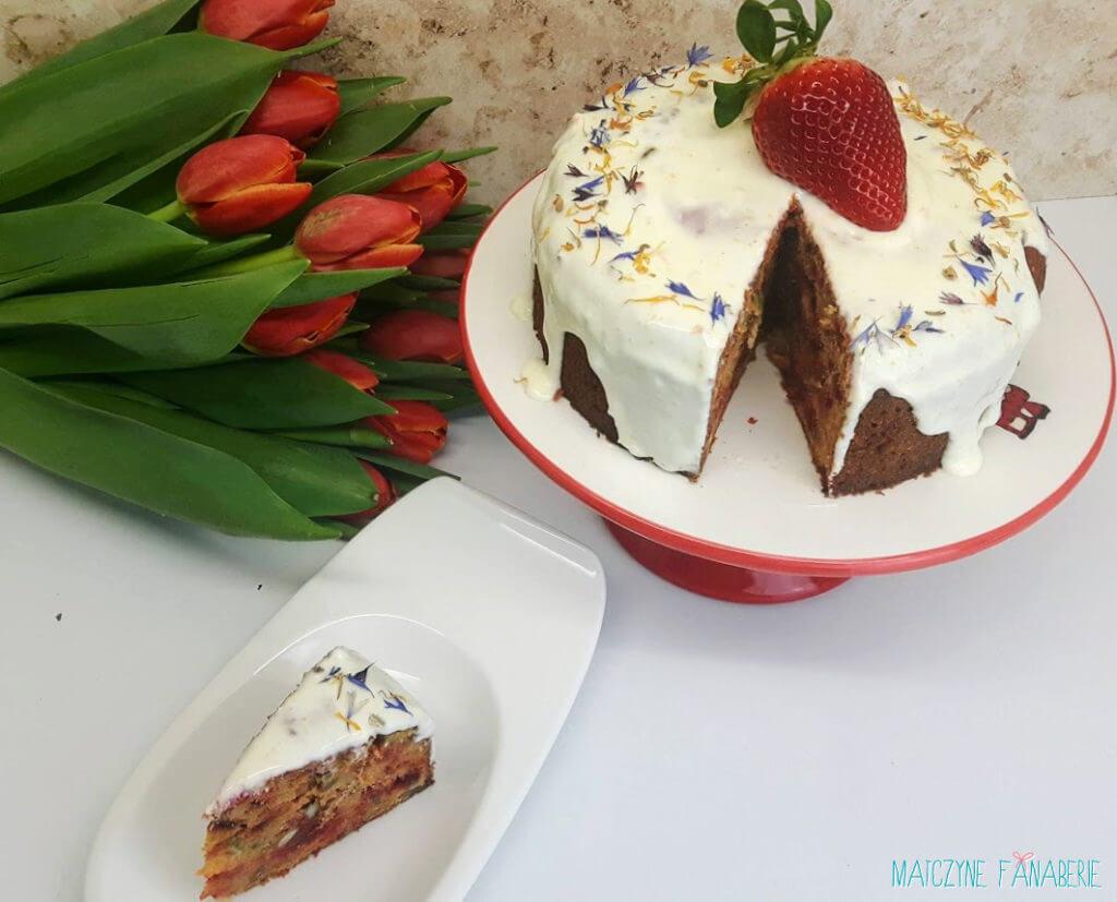 Ciasto marchewkowe Jamie