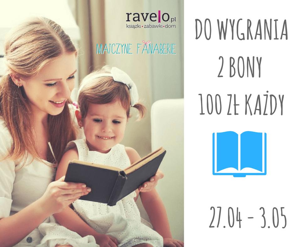 książki dla dzieci konkurs ravelo