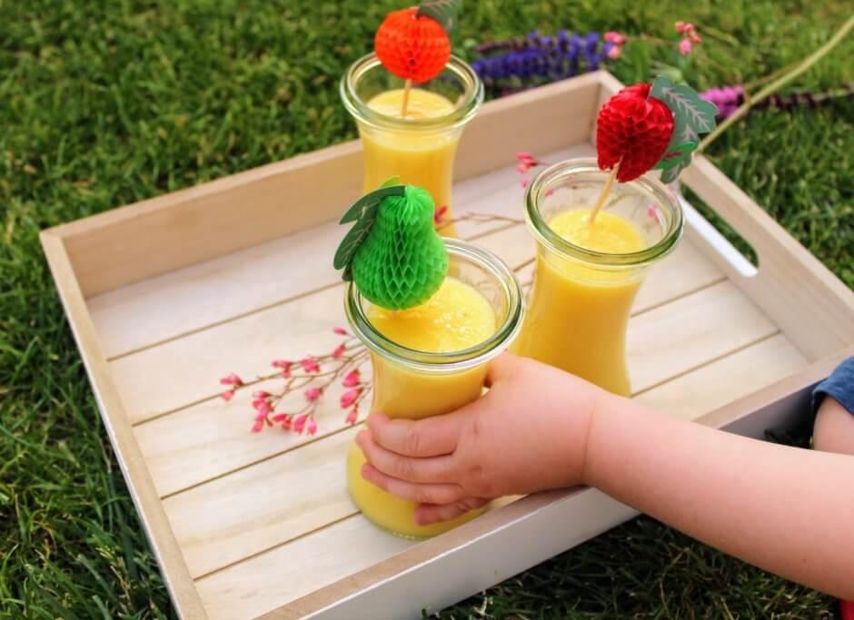koktajle i soki dla dzieci