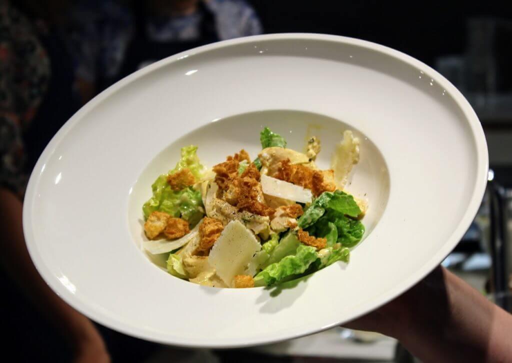 warsztaty jak zrobić dobry stek- salatka cezar