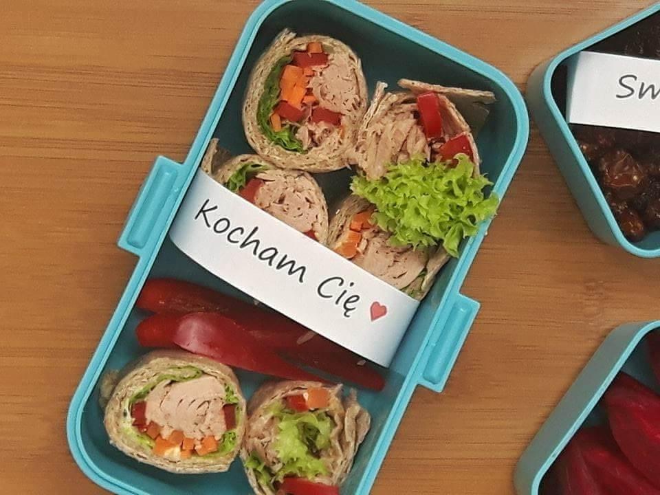 Karteczki do lunchboxa kocham Cię