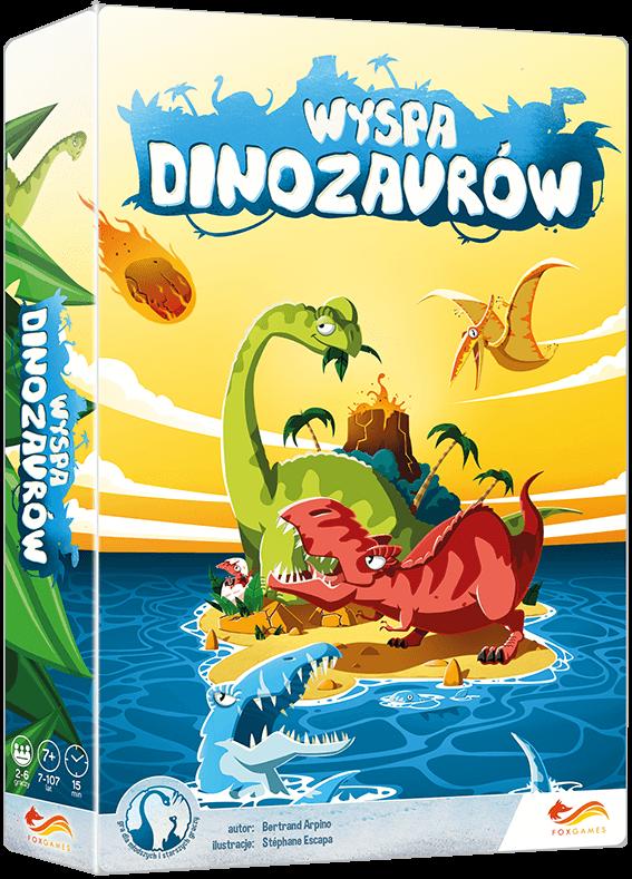 gry planszowe o dinozaurach