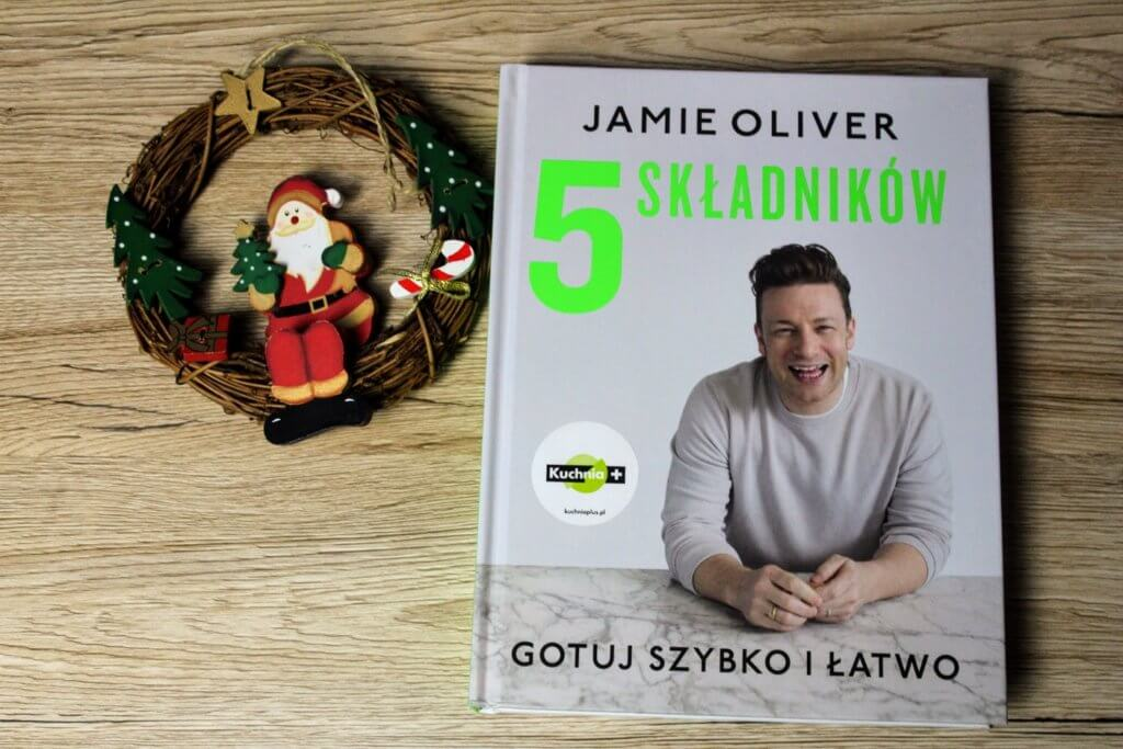 książki kulinarne Jamie Olivier 5 składników