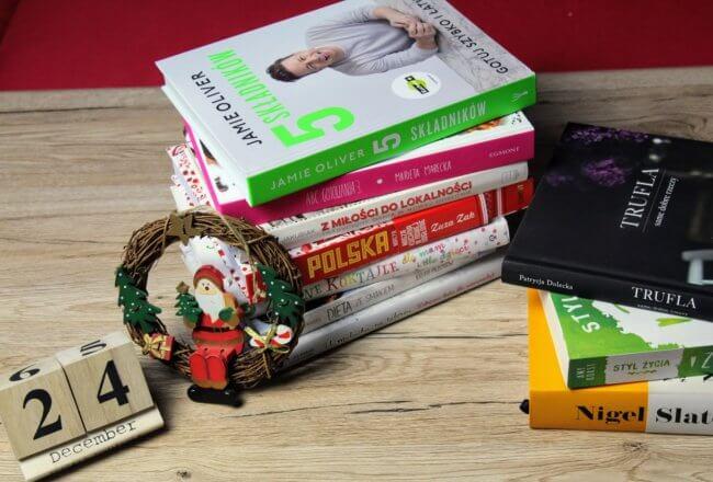 książki kulinarne prezent pod choinkę