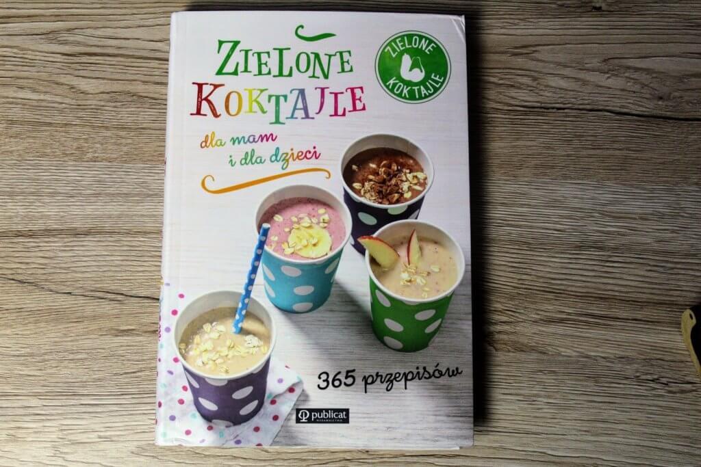 koktajle dla dzieci książki kulinarne prezent pod choinkę