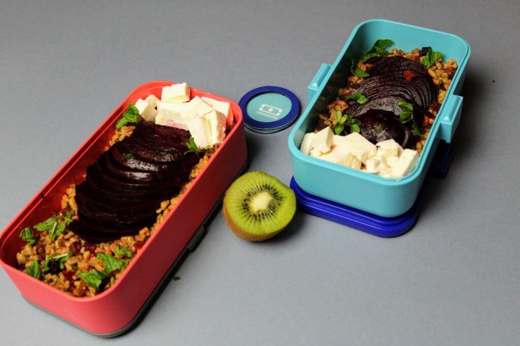 lunchbox z kaszą przepisy