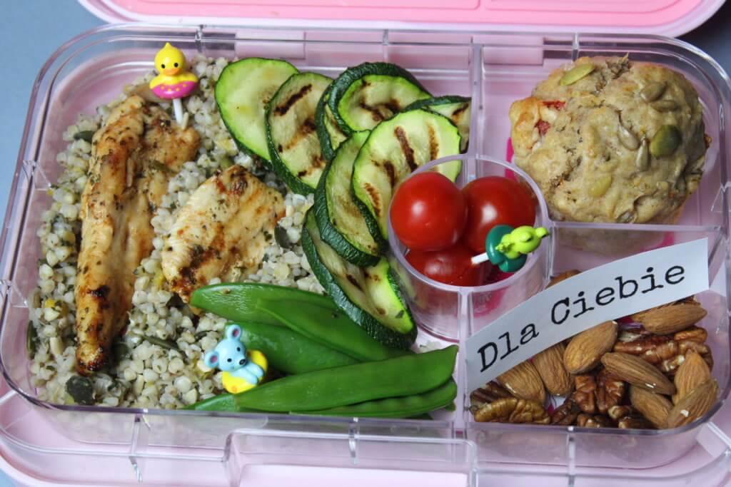Lunch box przepisy kasza