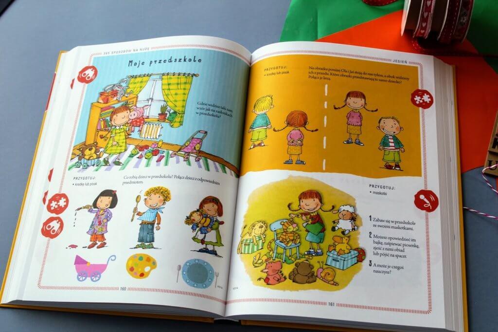 zabawy z dzieckiem dla przedszkolaka - 365 sposobów na nudę