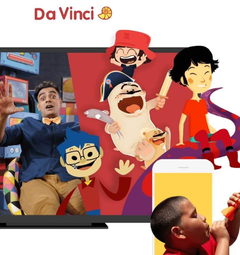 było sobie życie w Da Vinci Kids