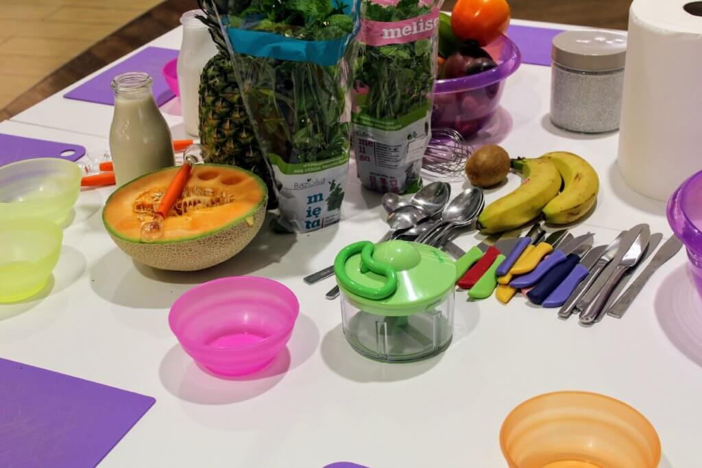 warsztaty kulinarne dla dzieci szkoła na widelcu