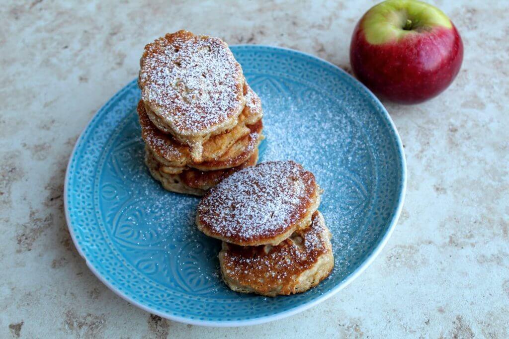 placki z jabłkami dla dzieci