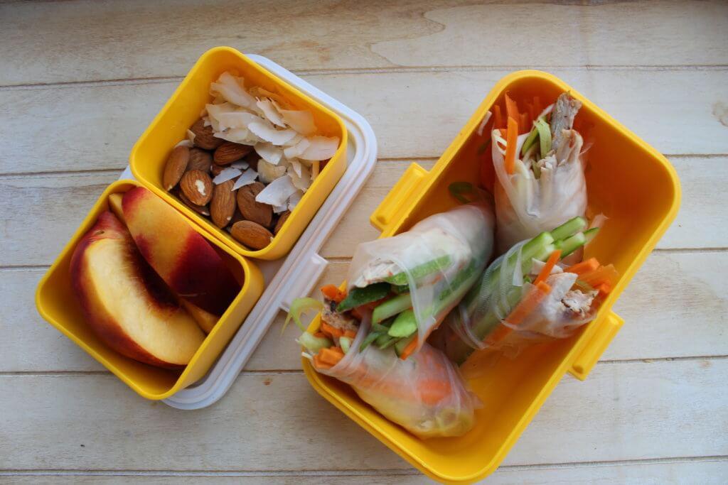 spring-rolls lunchbox do szkoły