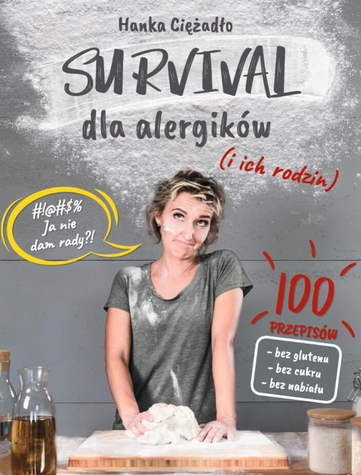 książki kulinarne pod choinkę - survival dla alergików