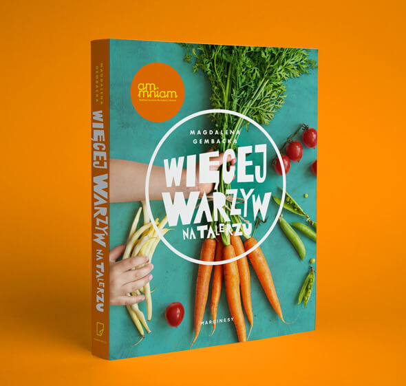 książki kulinarne pod choinkę - wiecej warzyw