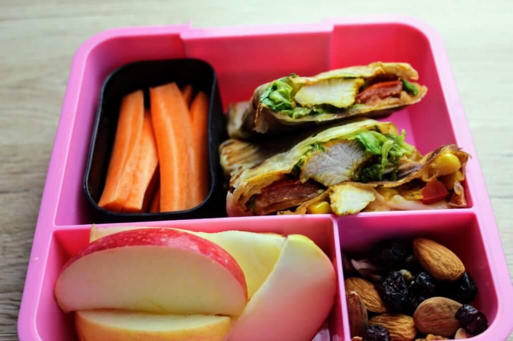 Domowa tortilla - przepis lunchbox