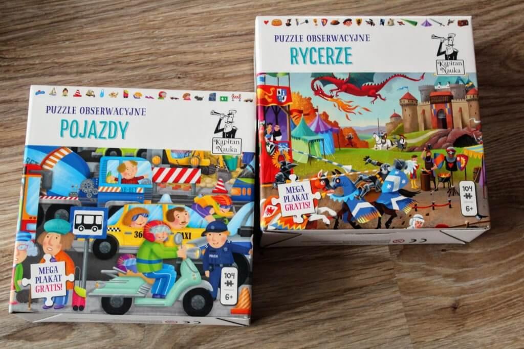puzzle obserwacyjne dla 6 latków