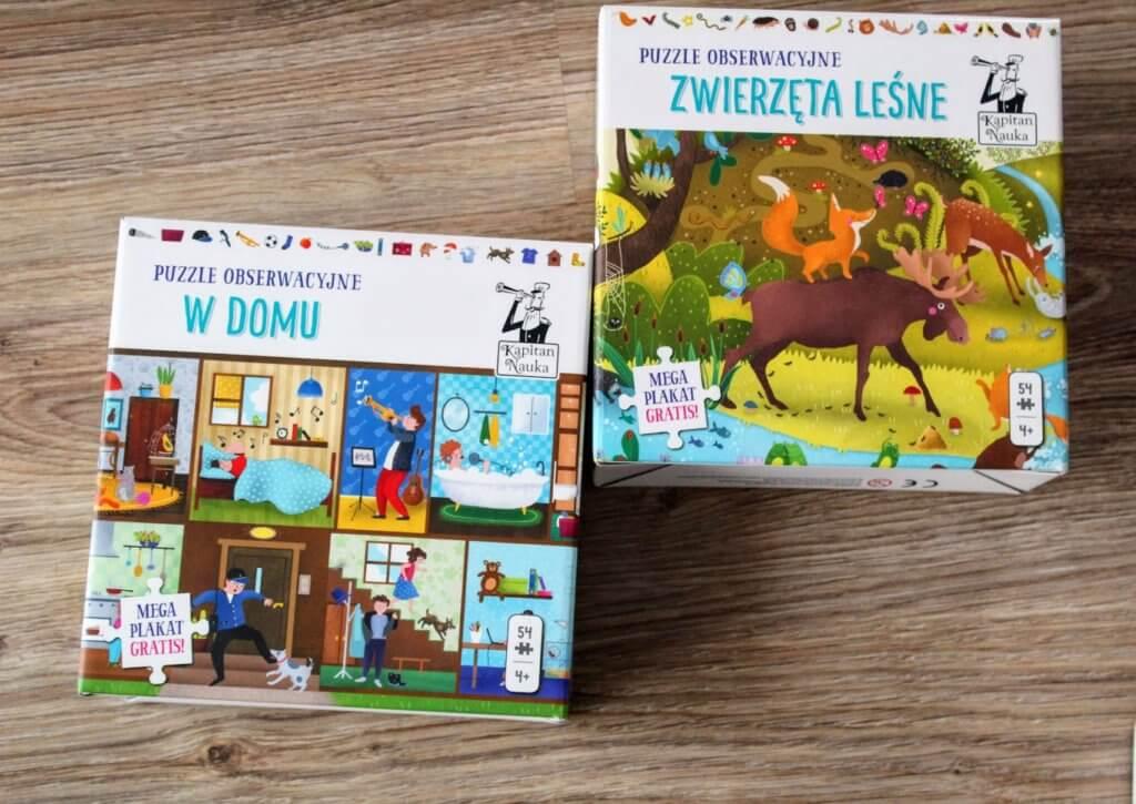 puzzle obserwacyjne dla 4 latków