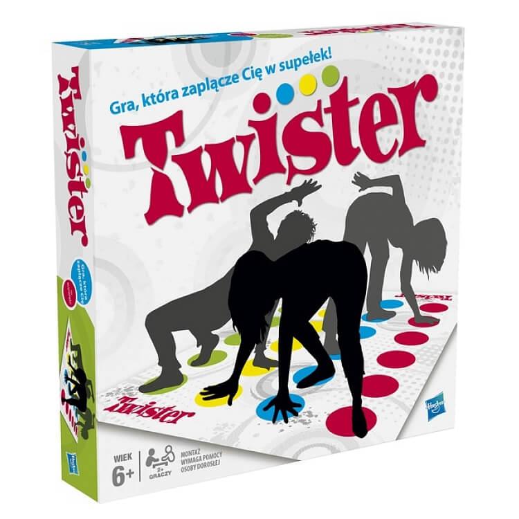 Twister Gry planszowe dla 5 i 6 latka