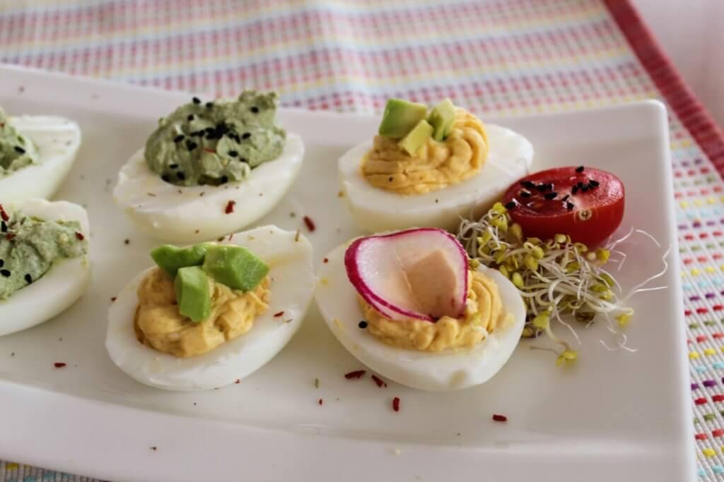 proste przepisy na jajka faszerowane