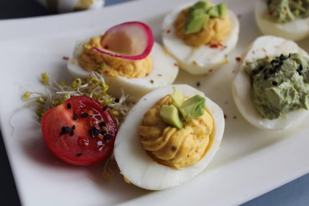 jajka faszerowane na wielkanoc