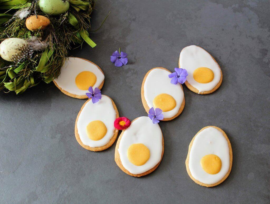 Jajka - ciastka na wielkanoc