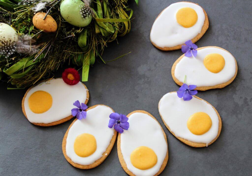 Jajka wielkanocne - ciastka na wielkanoc