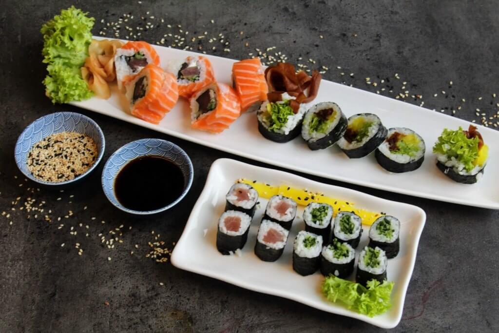 najlepsze sushi