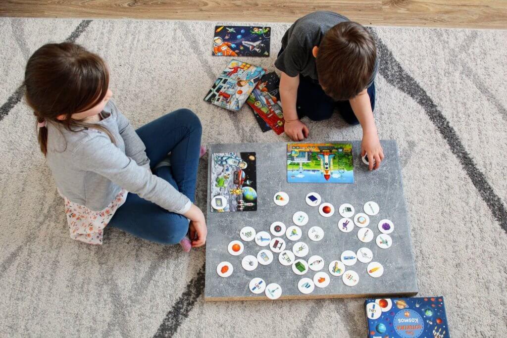 gra planszowa dla najmłodszych