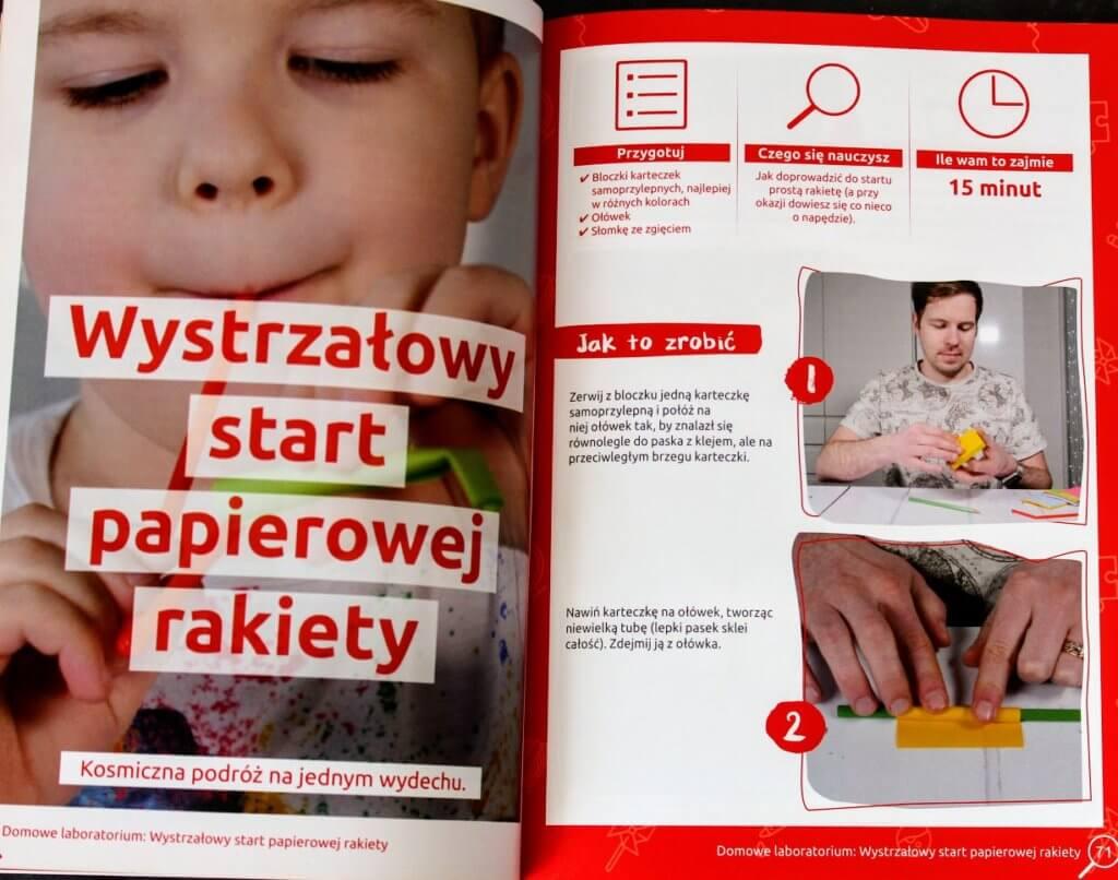 eksperymenty dla dzieci w domu i w szkole